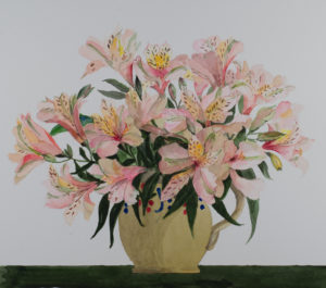 Alstroemeria in French Jug